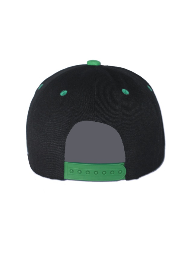 KLEPS Originals Green Snapback Cap Back