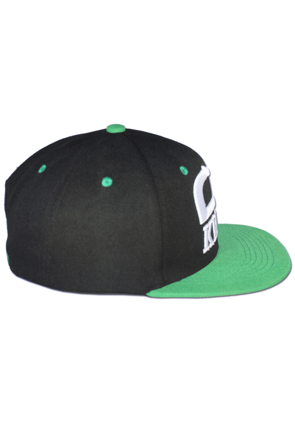 KLEPS Originals Green Snapback Cap Side Right