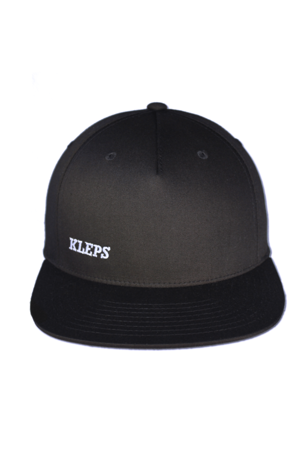 KLEPS Pinch Black Snapback Pet Voorkant