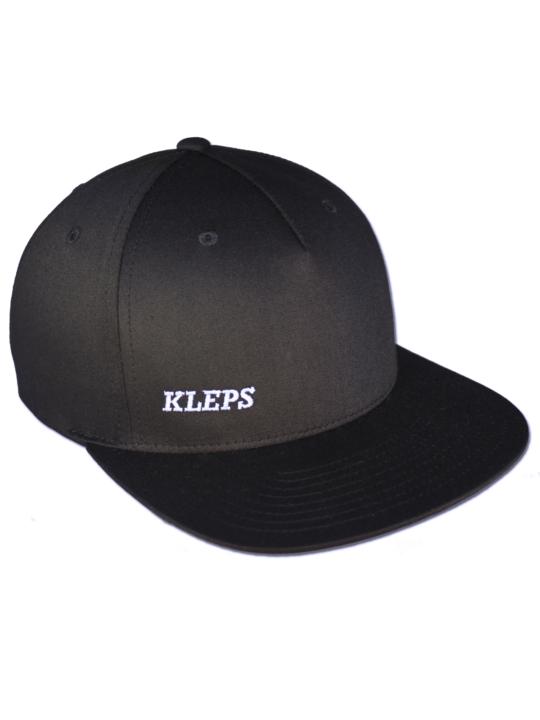 KLEPS Pinch Black Snapback Cap Frontside