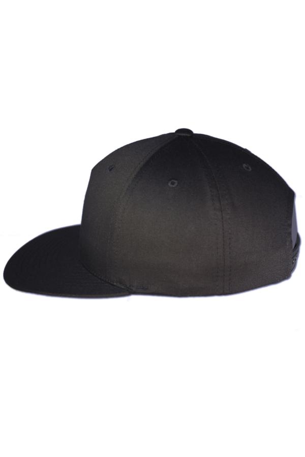 KLEPS Pinch Black Snapback Cap Side Left