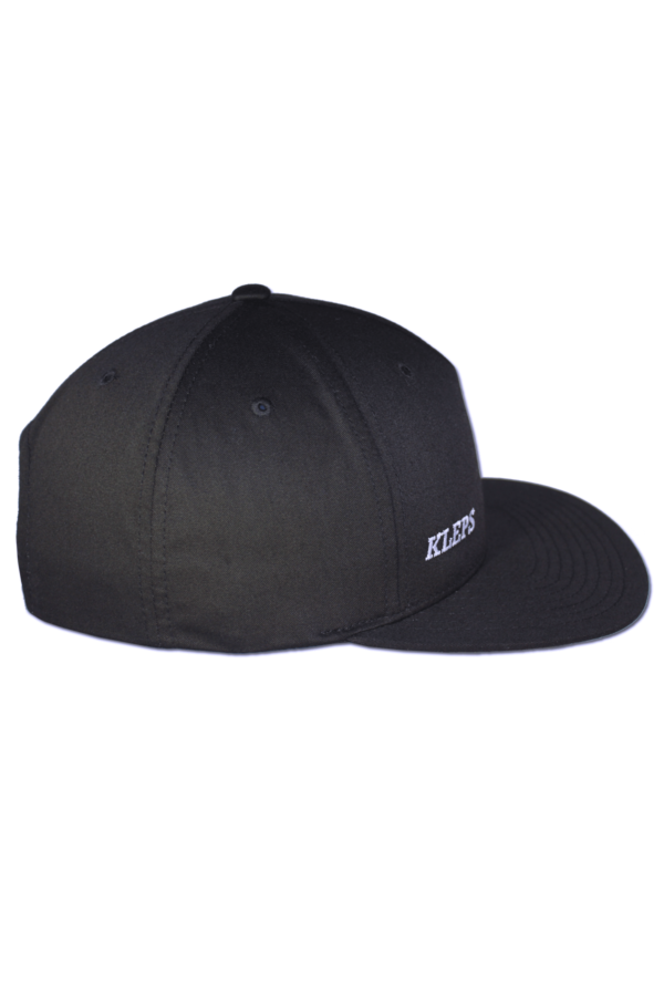 KLEPS Pinch Black Snapback Cap Side Right