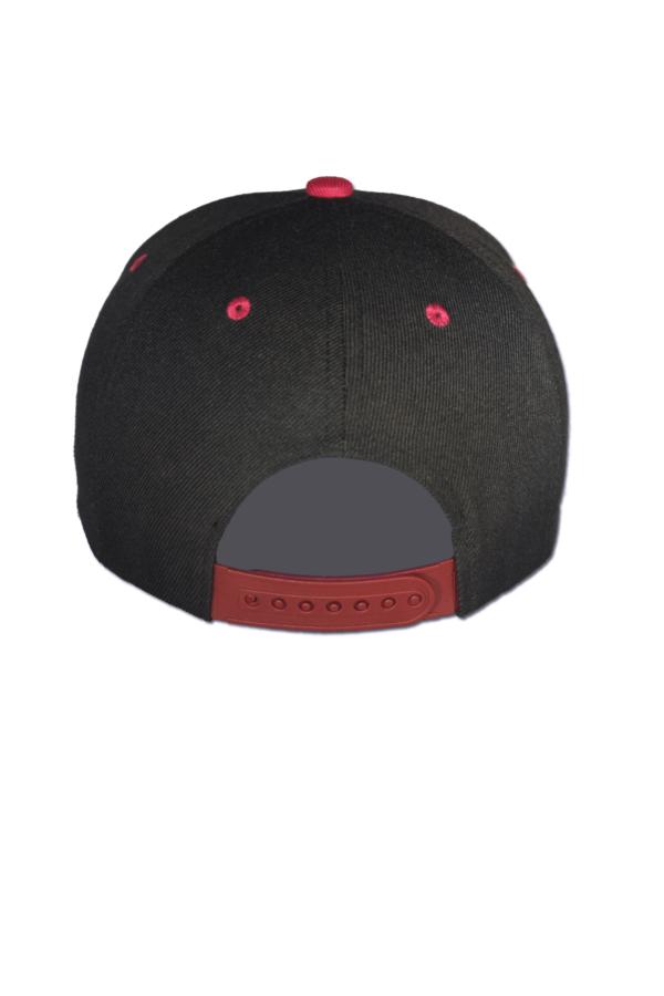 KLEPS Wolfpack Red Snapback Cap Back