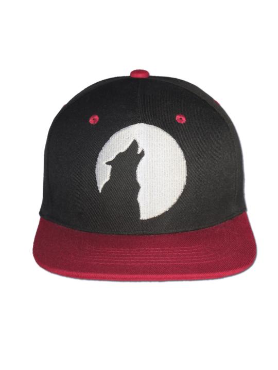 KLEPS Wolfpack Red Snapback Cap Front