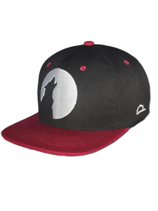 KLEPS Wolfpack Red Snapback Cap Frontside