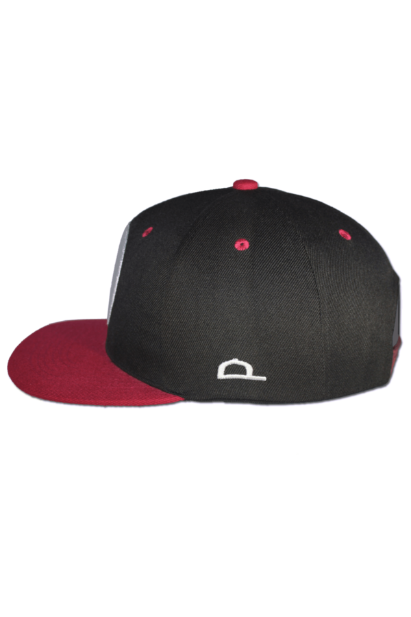 KLEPS Wolfpack Red Snapback Cap Side Left
