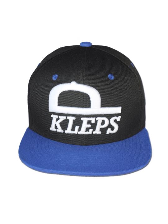 KLEPS Originals Blue Snapback Cap Front