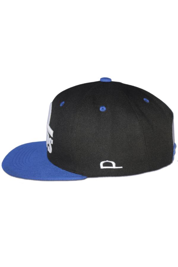 KLEPS Originals Blue Snapback Cap Side Left