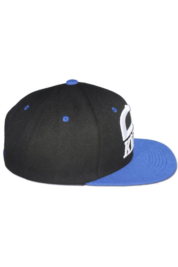 KLEPS Originals Blue Snapback Cap Side Right